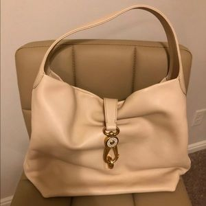 Dooney and Bourke Florentine Logo Lock Hobo
